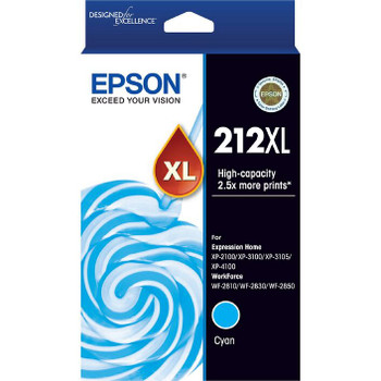 Epson 212XL Ink Cartridge Cyan