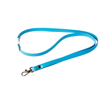 Rexel 9854001 ID Soft Touch Lanyard Blue