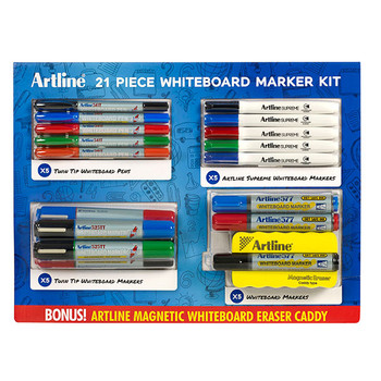 Artline 21 Pieces Whiteboard Marker Value Pack