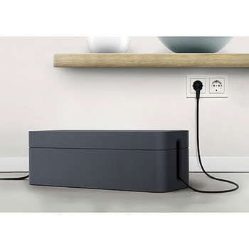 Durable Cavoline Cable Boxes L Cable Graphite