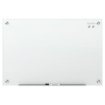 Quartet Glass Board Infinity 1220X1810mm White