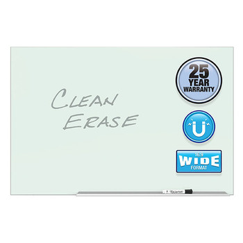 Quartet Element Magnetic Glass Dry - Erase 1270 X 710mm