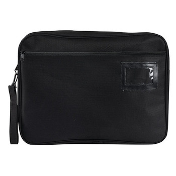 Marbig 9008402 Convention Satchel Zipped Fabric Black