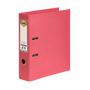 ColourHide Marbig Lever Arch File A4 PE Coral