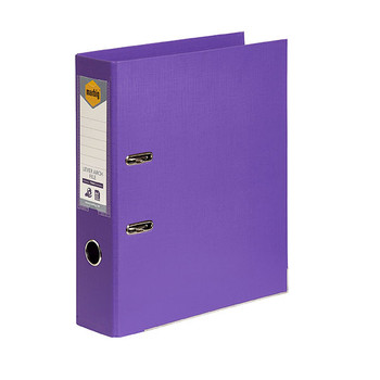 Marbig Lever Arch File A4 PE Purple Box Of 10