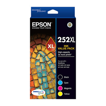 Epson 252XL 4 Ink Value Pack