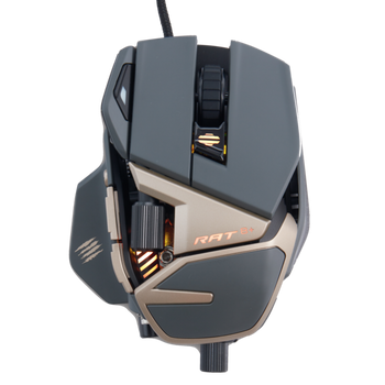 Verbatim R.A.T. 8+ Gaming Mouse 30 Year Limited Edition Black