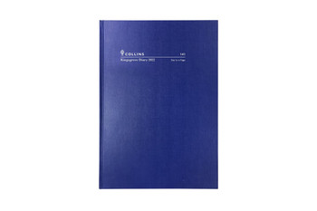Collins 2022 Diary Kingsgrove A4 Week To View Blue