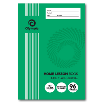 Olympic 142x205 55gsm Home Lesson Book 96 Page