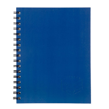 Spirax A4 Hard Cover Notebook 200 Page Blue