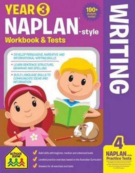 NAPLAN - Style Writing Year 3 Workbook And Tests By: Louise Park