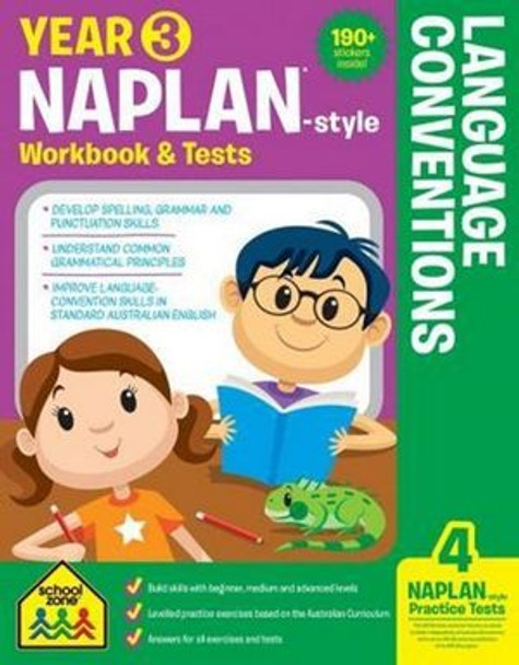 NAPLAN - Style Language Conventions Year 3 Workbook And Tests