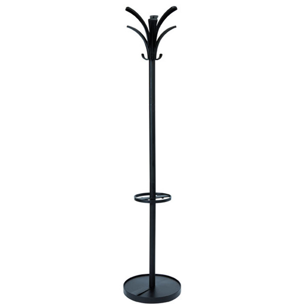 Alba Brio Coat Rack 1750 X 350 X 350mm Black