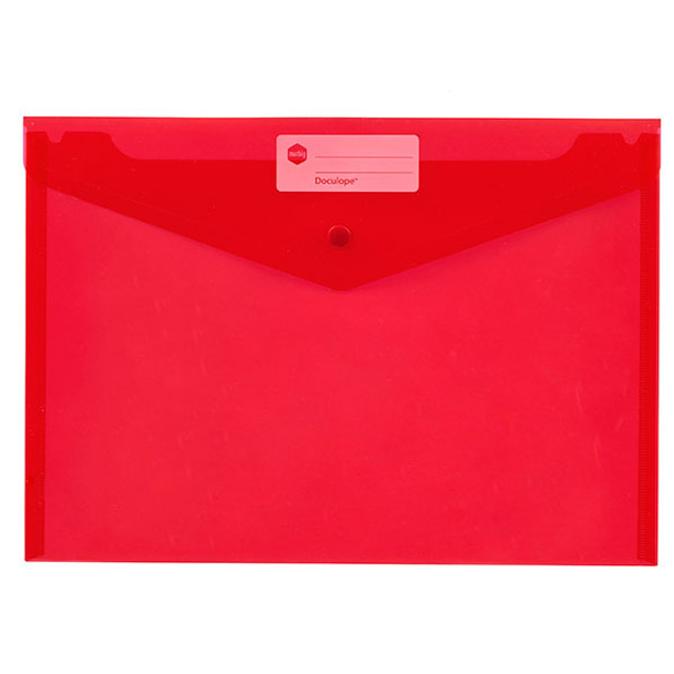 Marbig Doculope Document Wallet A4 Red