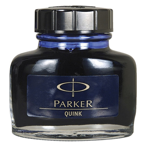 Parker Quink Ink Bottle Blue Black