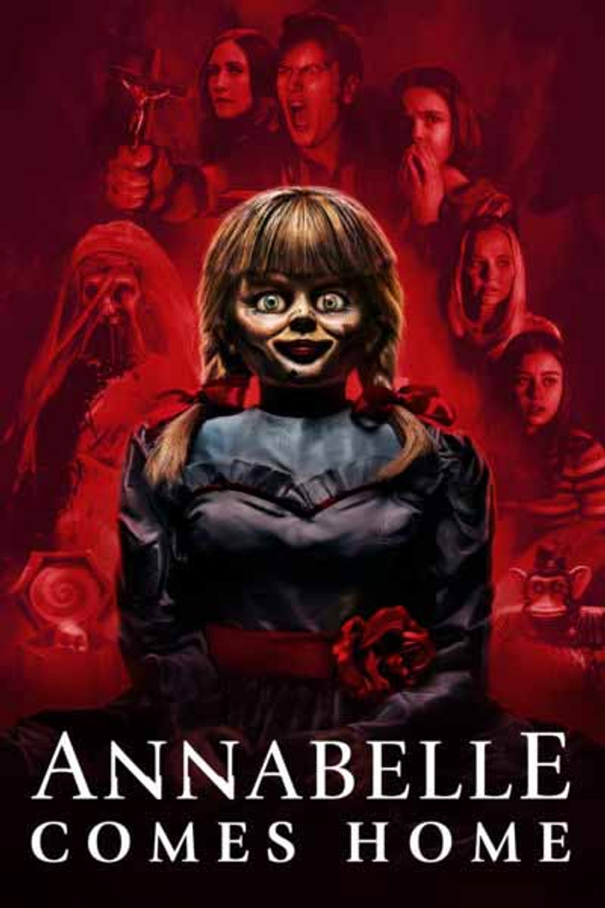 Annabelle Comes Home [Movies Anywhere HD, Vudu HD or iTunes HD via Movies  Anywhere] Pre-Order Delivery National Release October 8th