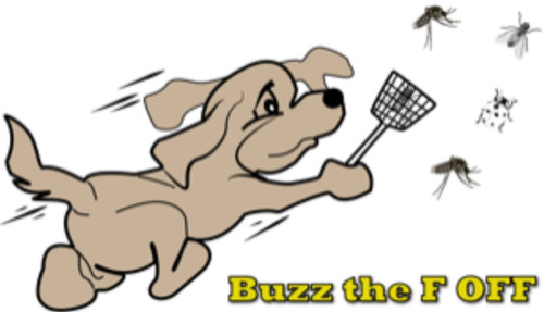 Buzz The F Off:Is designed to keep those biting flies, mozzies and insects away. We offer this product both in a spray or as an oil.
