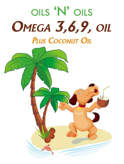This complete oil formula should be used as an addition to enhance any pets diet.