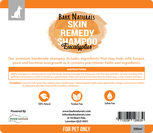 Bark Naturals Skin Remedy Shampoo - 500ml