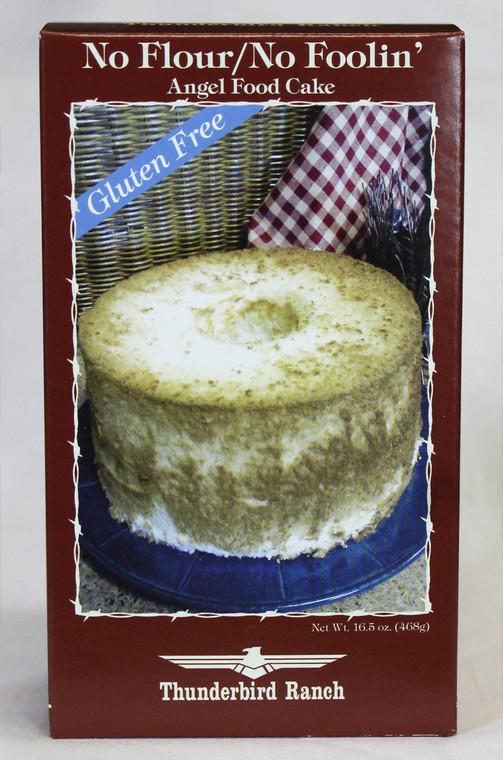 No Flour, No Foolin Angel Food Cake