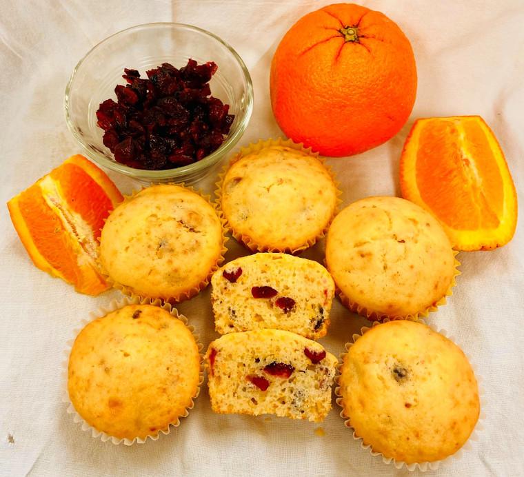 No Fluor/No Foolin Cranberry Orange Muffin Mix