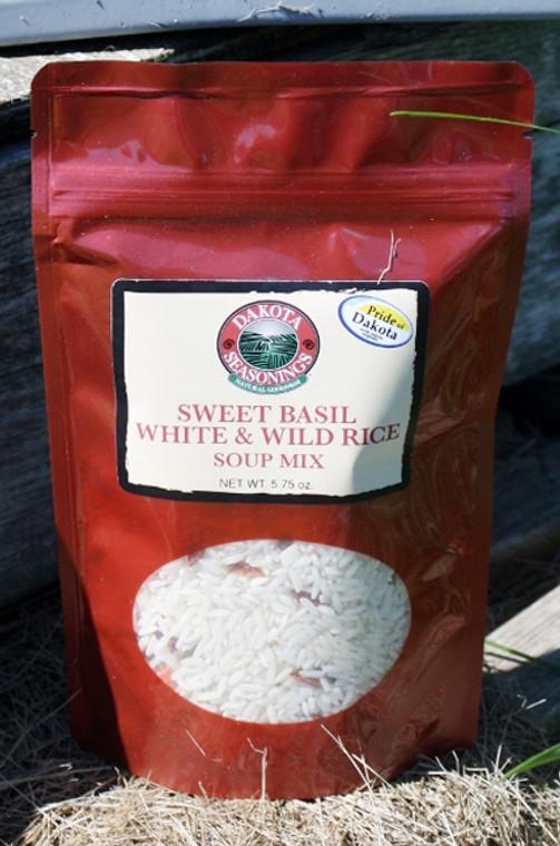 Sweet Basil, White & Wild Rice Soup Mix