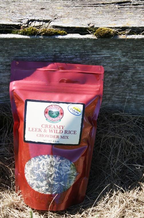 Creamy Leek & Wild Rice Chowder Mix