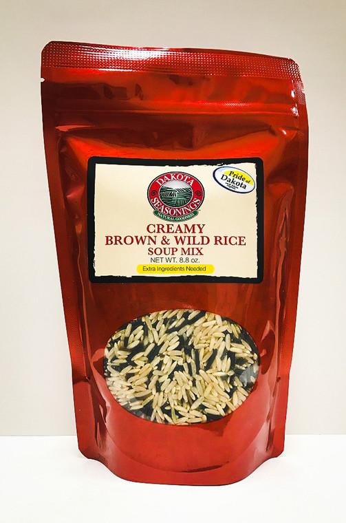 Creamy Brown & Wild Rice Soup Mix