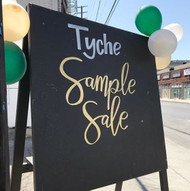 Tyche Summer Sample Sale RECAP!