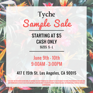Tyche Summer Sample Sale