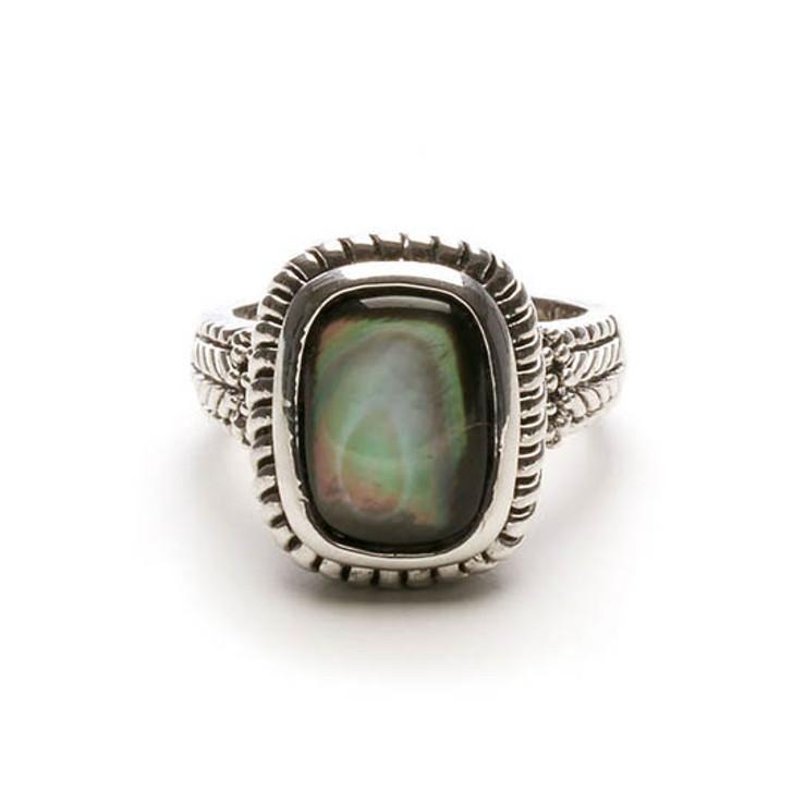 Alyssa Genuine Abalone Ring