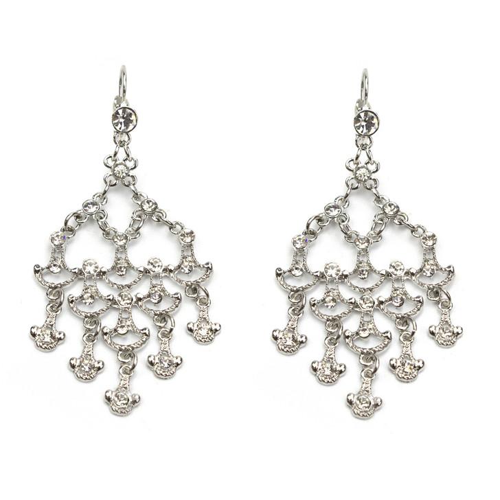 Dazzling Crystal Chandelier Earrings