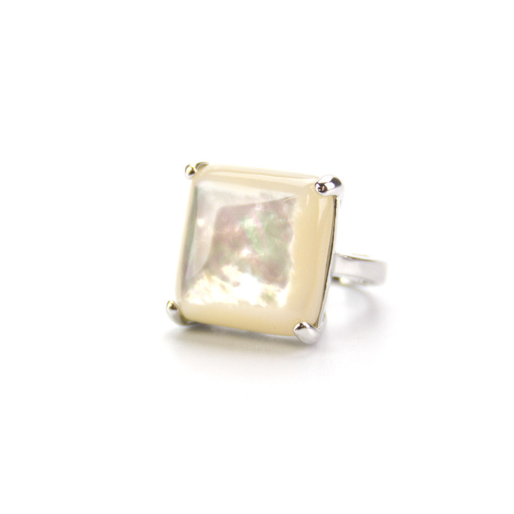 Wishing Star Genuine Mother of Pearl Ring