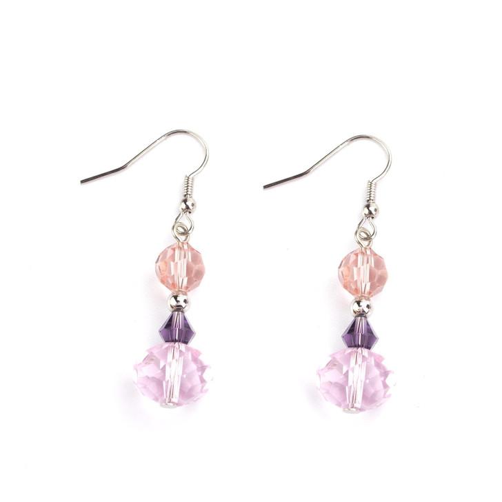 Dancing Crystals Earrings