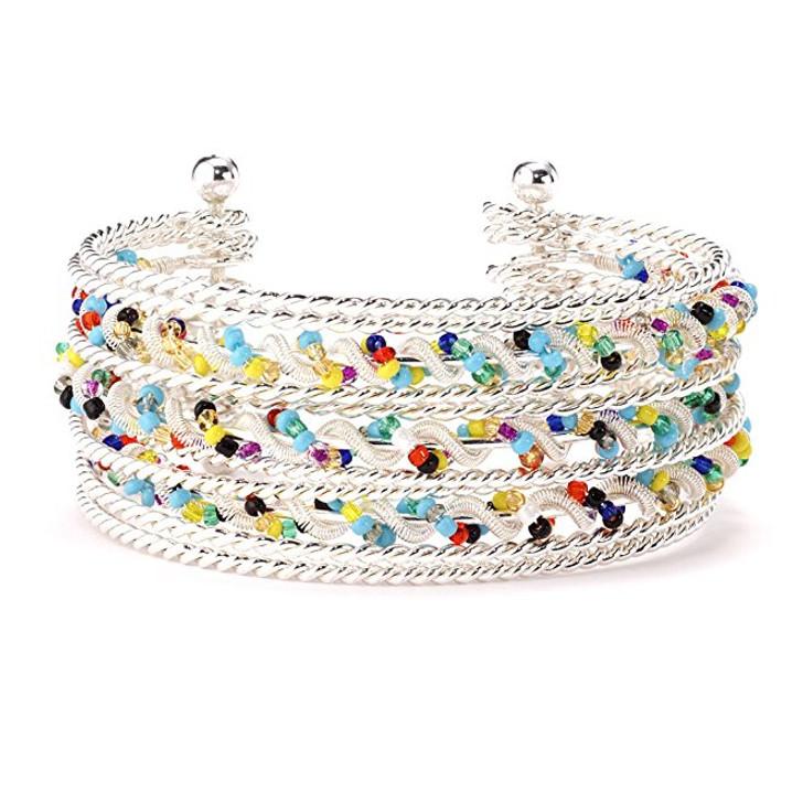Tutti-Frutti Cuff Bracelet