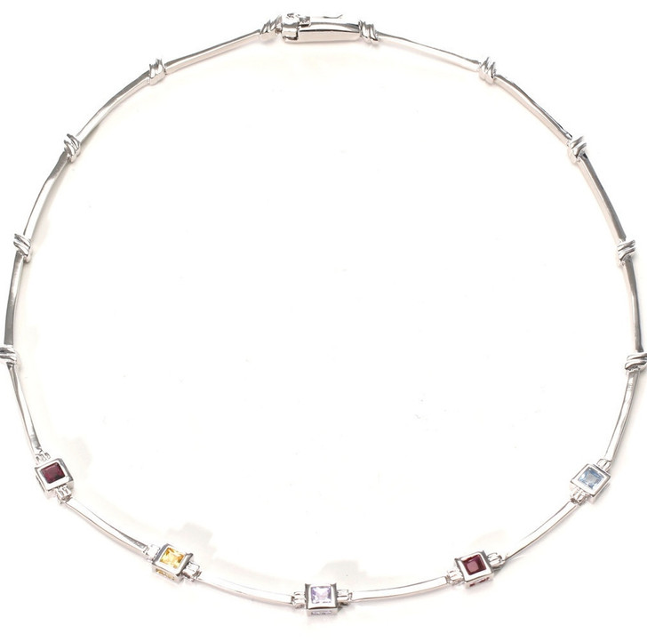 St. Croix Cubic Zirconia Necklace