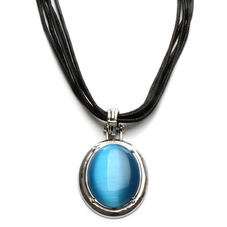 Northern Lights Cat's Eye Necklace