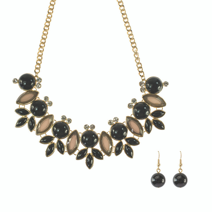 Bella Necklace and Earrings Statement Necklace Set
