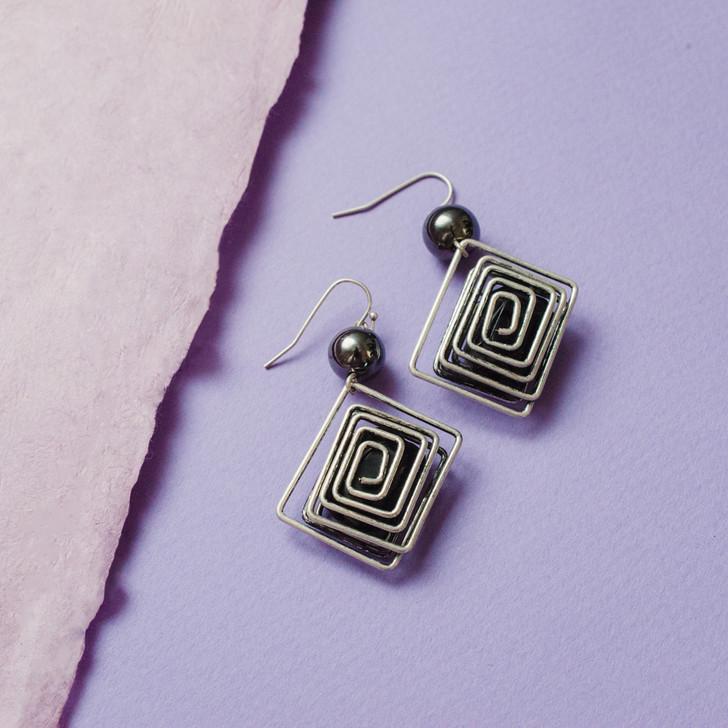 Geometric Glam Earrings