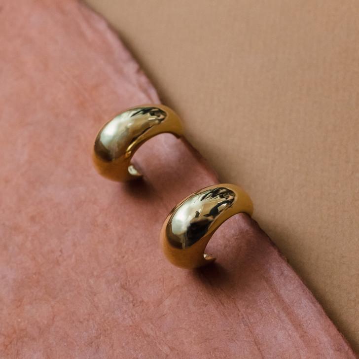 Flawless Gold Earrings