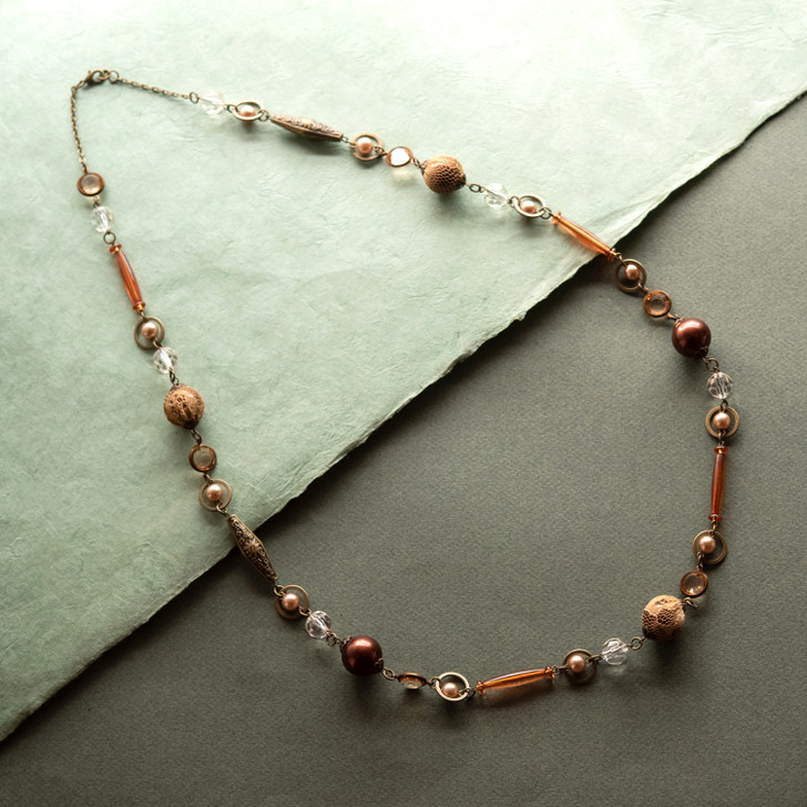 Sandlewood Beaded Necklace