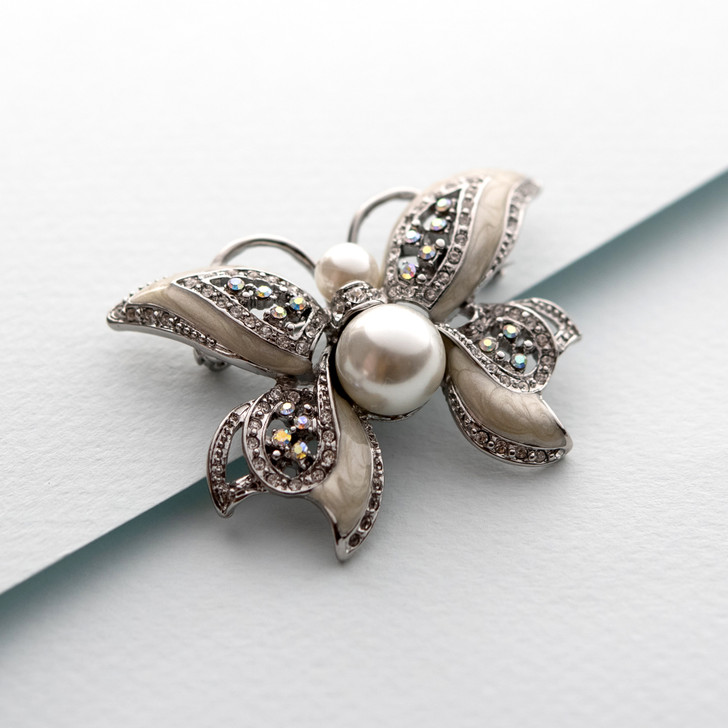 Mademoiselle Butterfly Pin