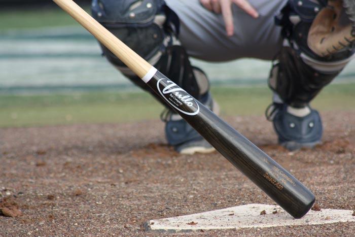 Vullo Bat at homebase.