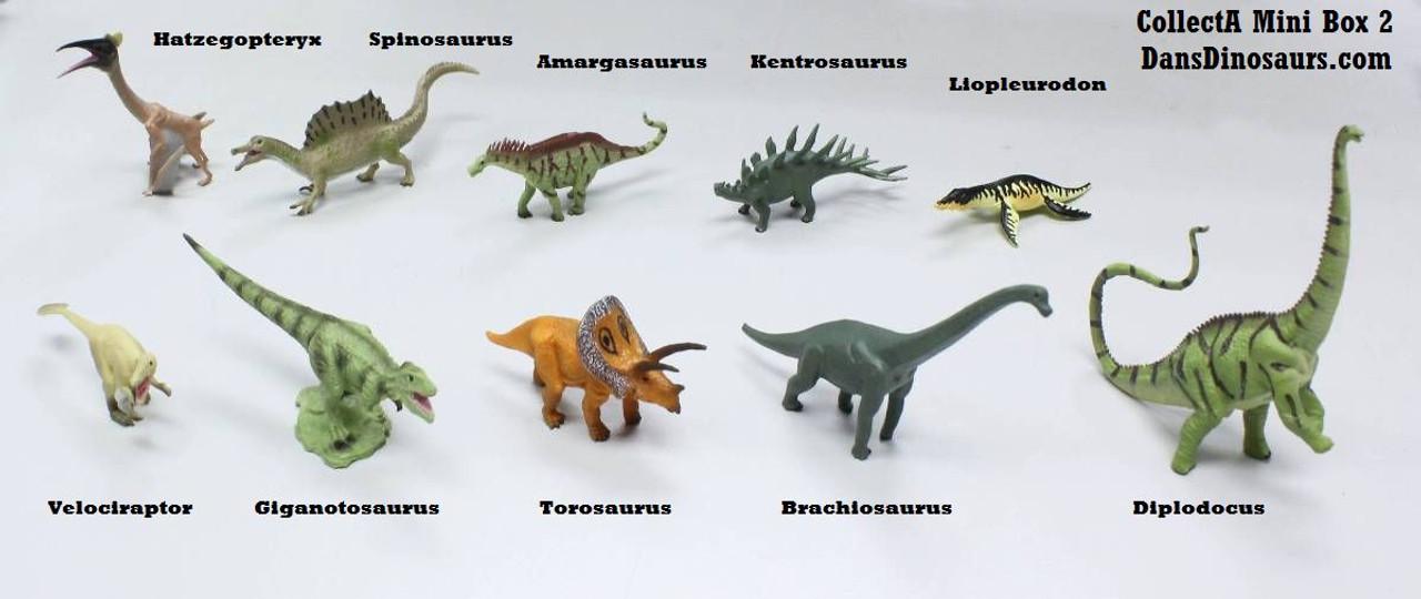 CollectA Mini Dinosaurs Box 2