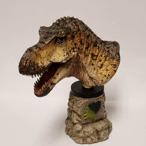 Tyrannosaurus Bust Resin Kit by Micromania