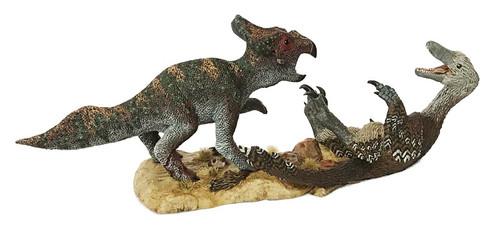 Velociraptor vs Protoceratops Resin Kit by Kazaryan
