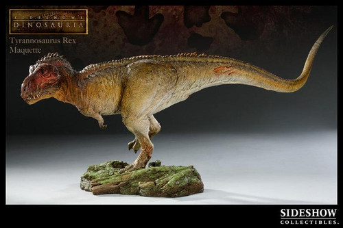 Tyrannosaurus Rex Maquette by Sideshow