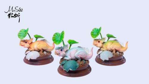 Pachyrhinosaurus Baby Finished Model by Musee Studio