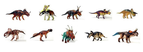 Ceratopsian Collection (Wave 1) by Beasts of the Mesozoic