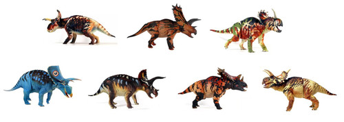 Ceratopsian Collection (Wave 3) by Beasts of the Mesozoic